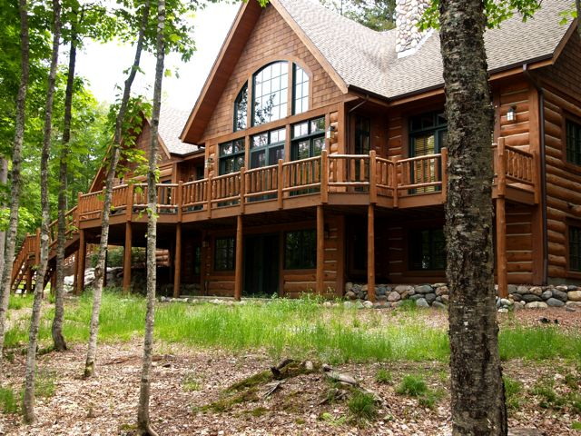 Log Home Builders Eagle River Wi