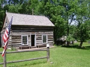 Celebrate michigan 39 s log cabin day at old victoria for Log cabins victoria