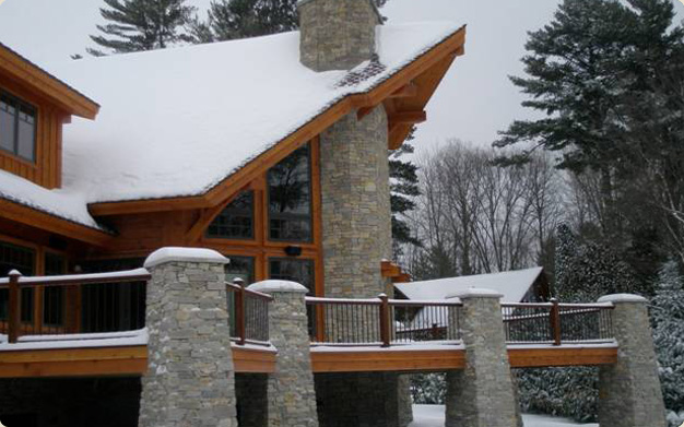 Timber frame homes northern wisconsin home builder Northern wisconsin home builders