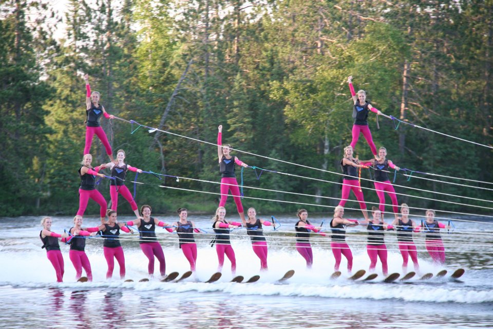 Check out the stunning stunts Conover's Chain Skimmers perform all summer!