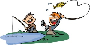 fishing cartoon