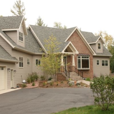 Eagle River Lake Home Construction by North Twin Builders