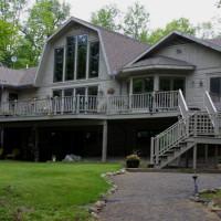 Northwoods Custom Home Exteriors North Twin Builders