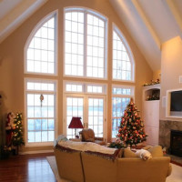 Northern Wisconsin Living Room Design