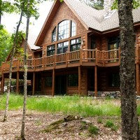 Vilas County WI Log Home Construction
